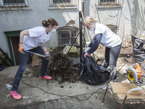 Volunteer Day with Rebuilding Together NYC