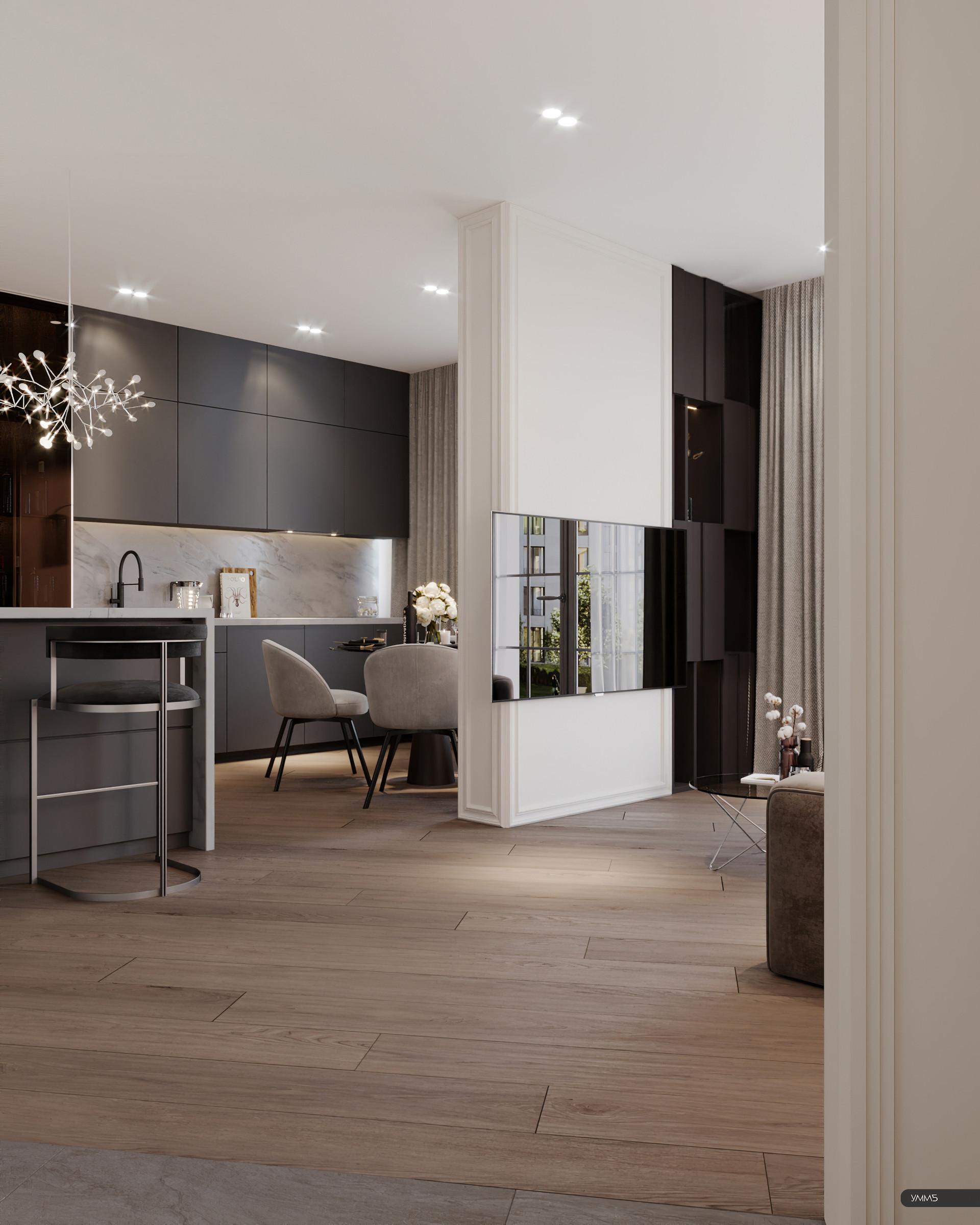 современный дизайн, современный интерьер, современная гостинная, гостинная дизайн, дерево в интерьере, модерн, модерн элеганс
