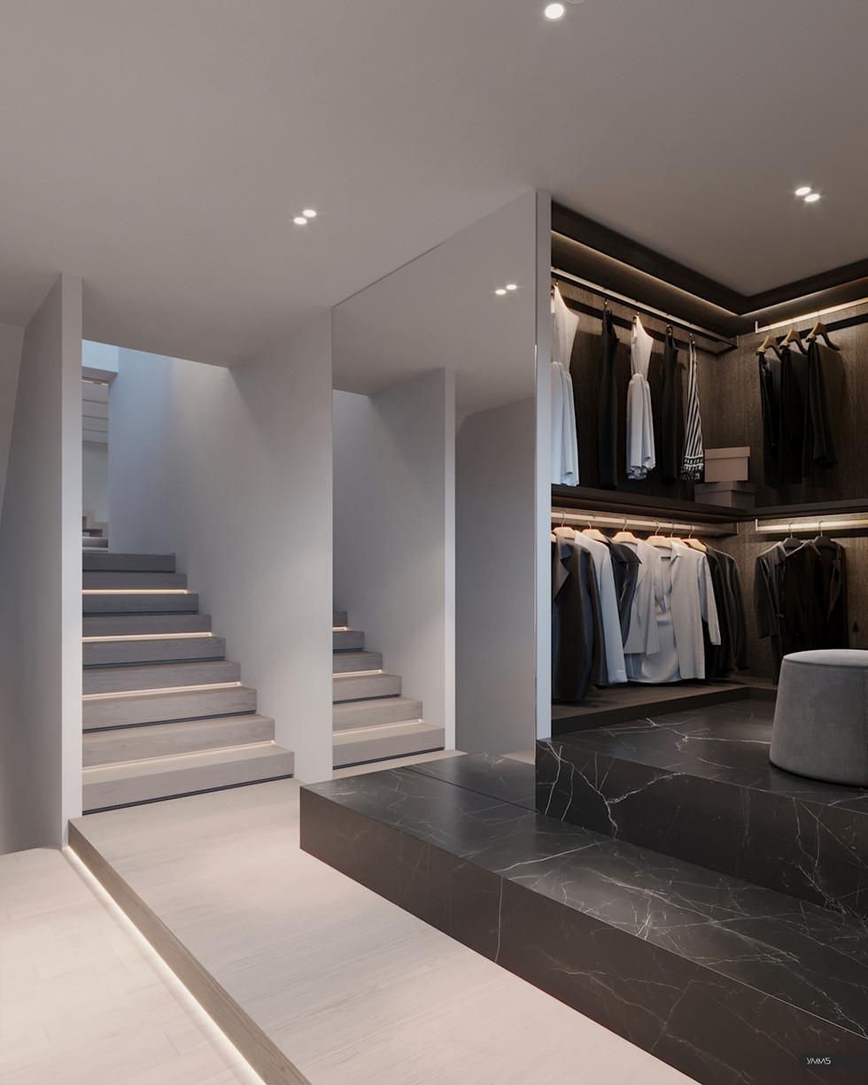 гардероб, гардеробная, гардеробная комната, дизайн гардеробной, интерьер гардеробной, современный интерьер, современный дизайн, дизайн интерьера, дизайн, интерьер, дизайн интерьера калининград, калининград, умм5, umm5, modern interior, modern wardrobe, design interior, interior design, светлогорск