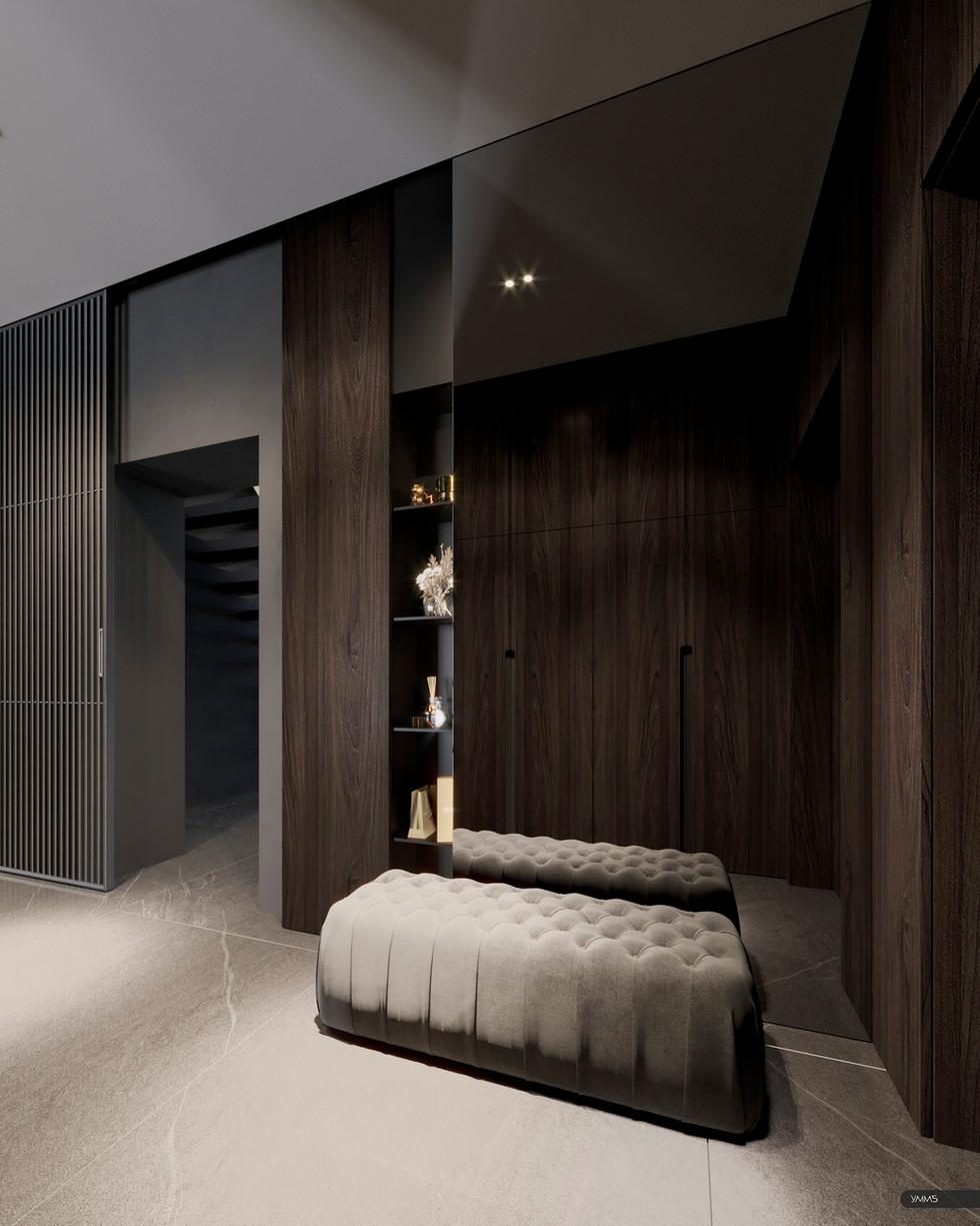 современный дизайн, современный интерьер, дизайн интерьера, прихожая, дизайн прихожей, интерьер приходей