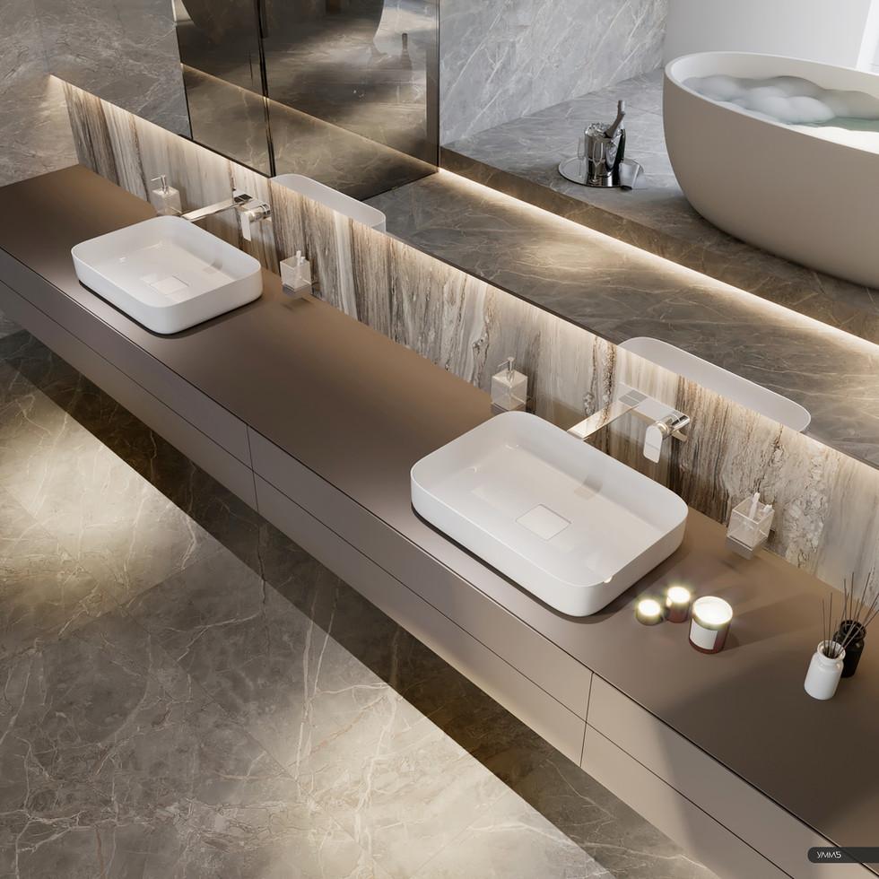 современный дизайн, современный интерьер, дизайн интерьера, ванная, санузел, дизайн ванной, интерьер ванной комнаты