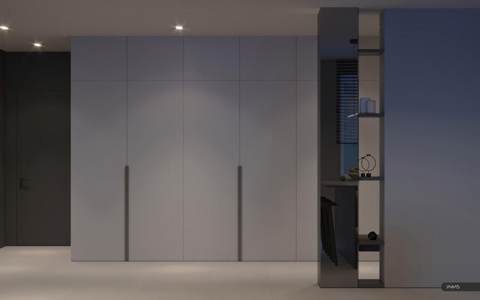 Дизайн интерьера коридора прихожей Студия дизайна и архитектуры УММ5