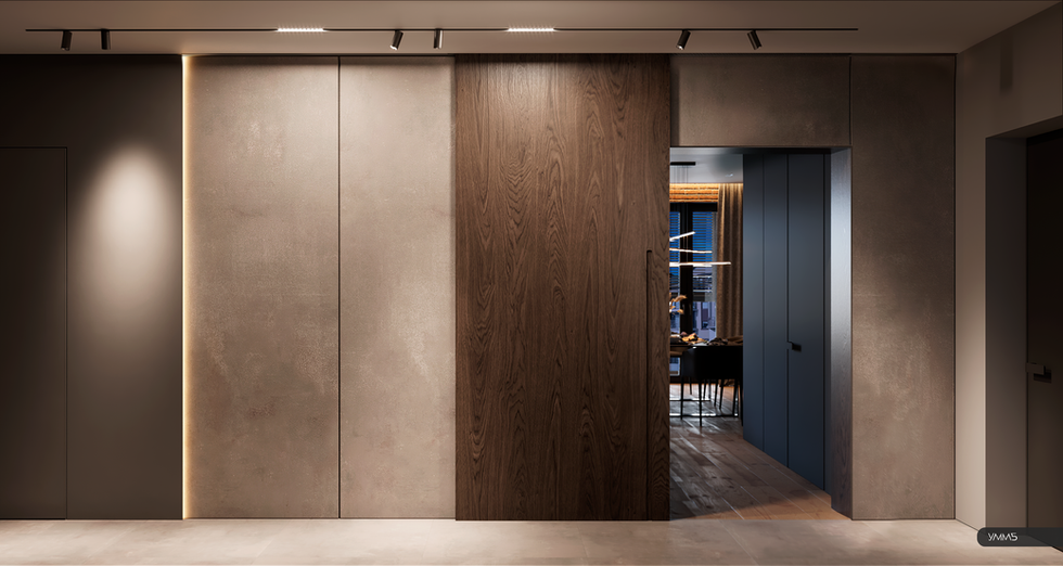 Прихожая, коридор, холл, современный дизайн, современный интерьер, дизайн интерьера, дизайн интерьера калининград, дизайн прихожей, интерьер коридора, умм5