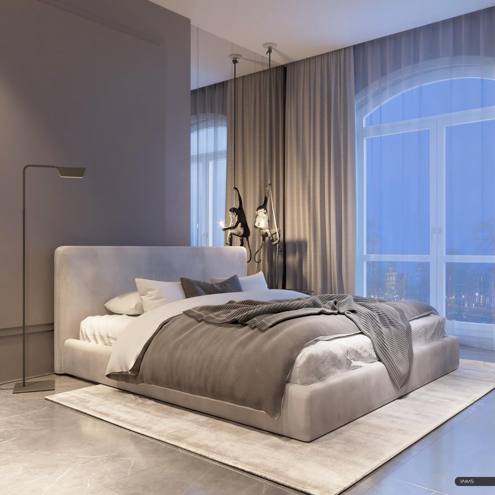 современный дизайн, современный интерьер, дизайн спальни, гостевая комната, дизайн спальни, интерьер спальни