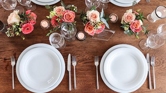 Tischdeko für eure Hochzeit in Vorarlberg