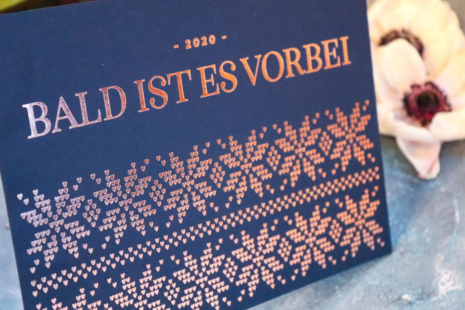 Weihnachtskarte für Austria Wedding
