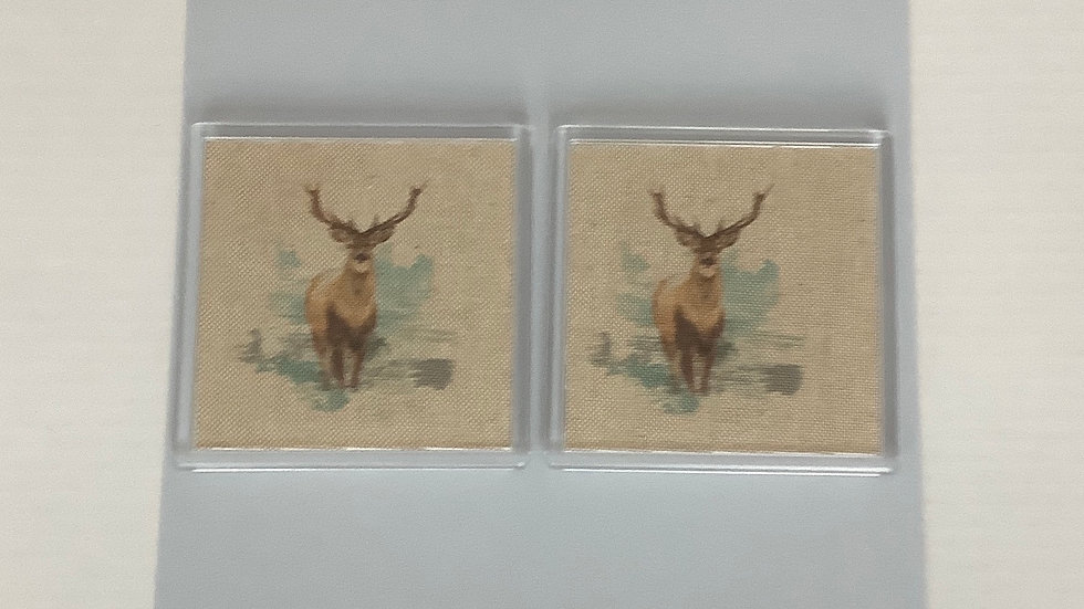 Coasters - Stags/Otter/Badger/Fox