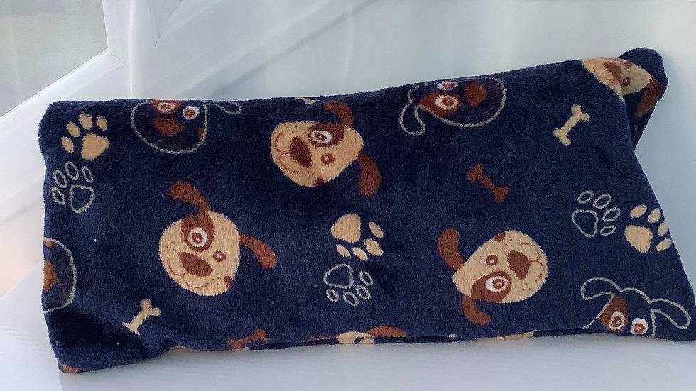 Doggie cushion filled with alpaca fleece