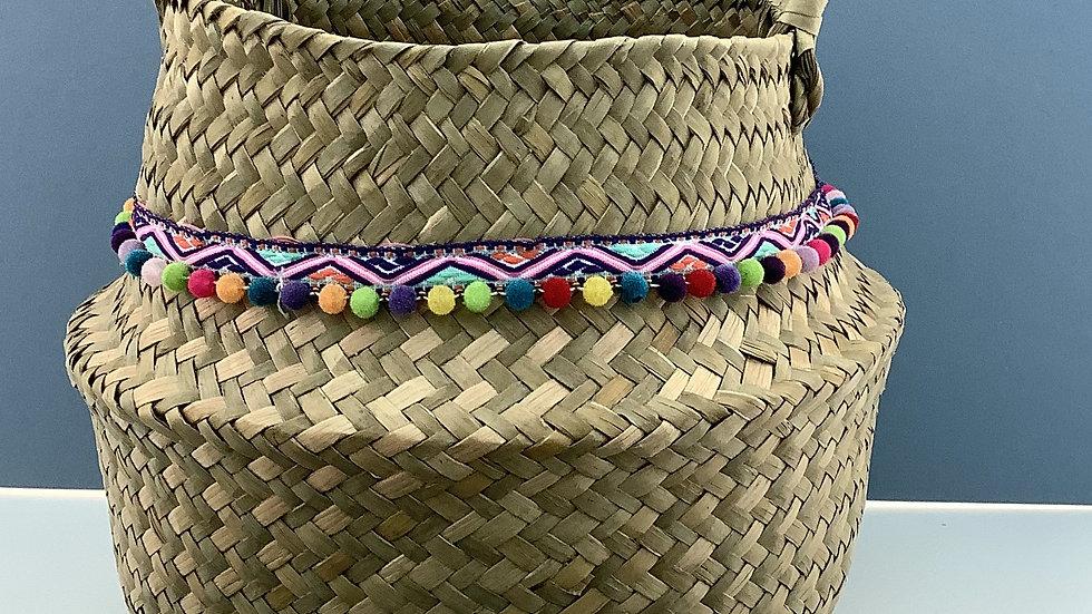 Seagrass Basket. storage holdall