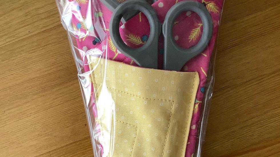 Scissors Holder/Case - Bright Pink