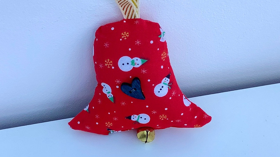 Bell shaped tree decoration