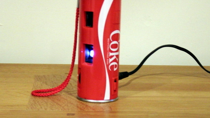Coca Cola Feature Lamp