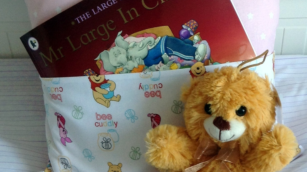 Story Book Cushion Mr Large in Charge