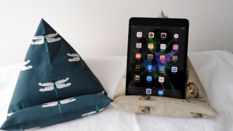 iPad/Tablet Rest - Dragonflies or Hares