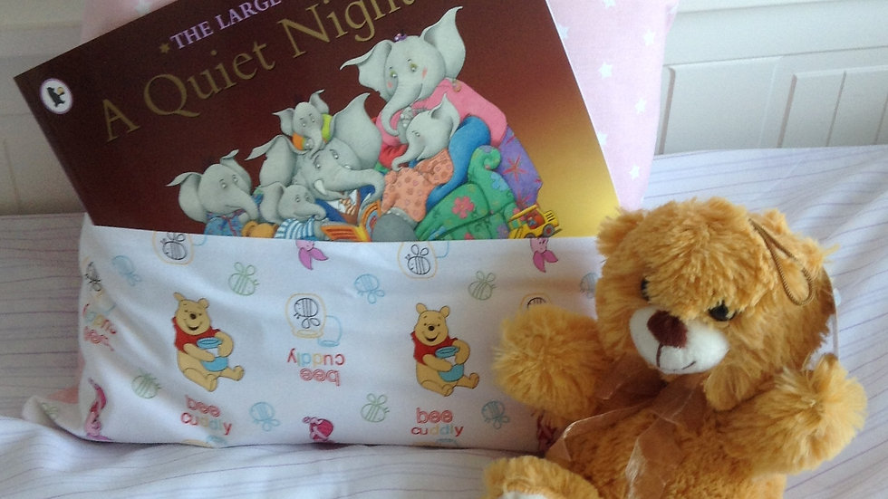 Story Book Cushion A Quiet Night In