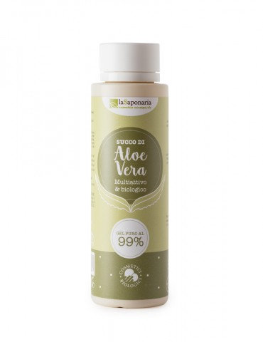Succo di Aloe - Gel di Aloe Vera Puro 99% - La Saponaria