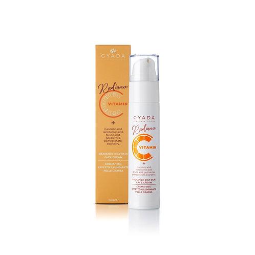 Radiance Oily Skin /Crema Viso Illuminante Pelle Grassa - Gyada Cosmetics