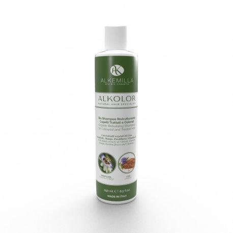 Bio Shampoo ristrutturante capelli trattati e colorati - Alkemilla