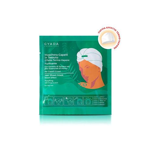 Maschera Capelli in Tessuto N.5 - Antiforfora - Gyada Cosmetics