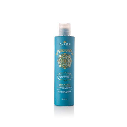 Hyalurvedic Shampoo Rivitalizzante/Amla, Althea, Hennè Neutro - Gyada Cosmetics
