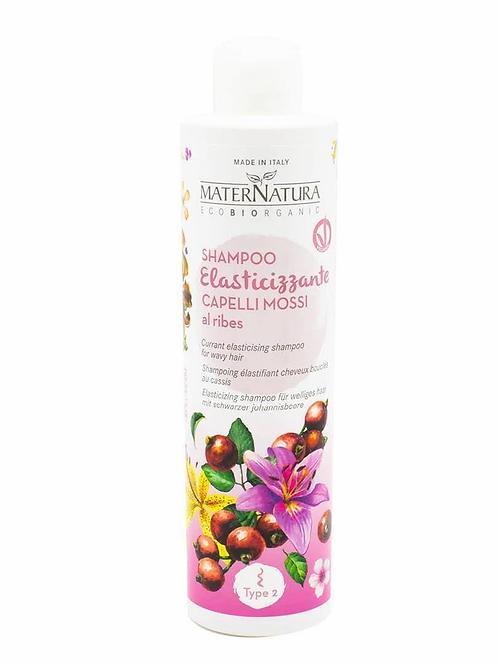 Shampoo Elasticizzante Capelli Mossi al Ribes - MaterNatura