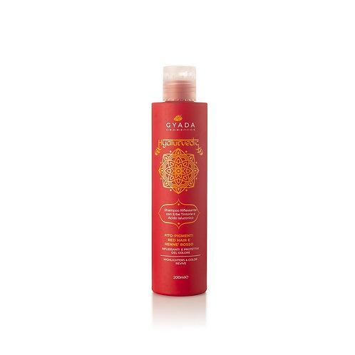 Hyalurvedic Shampoo Riflessante red hair - Gyada Cosmetics