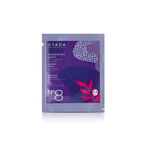 Maschera in Tessuto n.8 - Opacizzante / Zona-T - Gyada Cosmetics