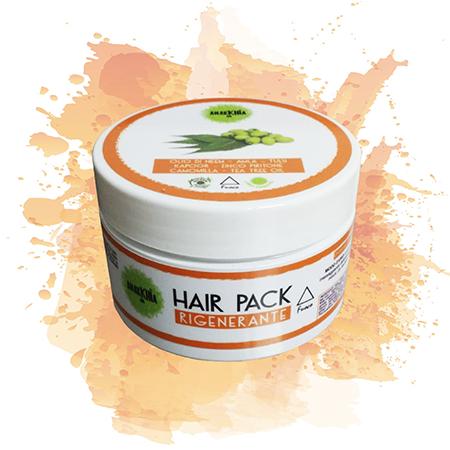Hair pack fuoco rigenerante - Anarkhia Bio