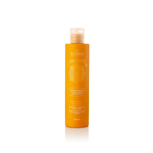 Hyalurvedic Shampoo Riflessante gold hair - Gyada Cosmetics