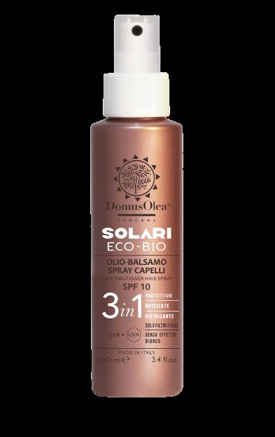 Olio-balsamo spray capelli SPF 10 - Domus Olea Toscana