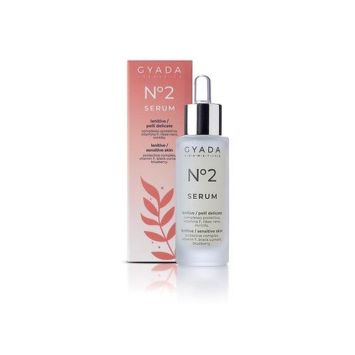 Siero Viso N. 2 Lenitivo / Pelli Delicate - Gyada Cosmetics