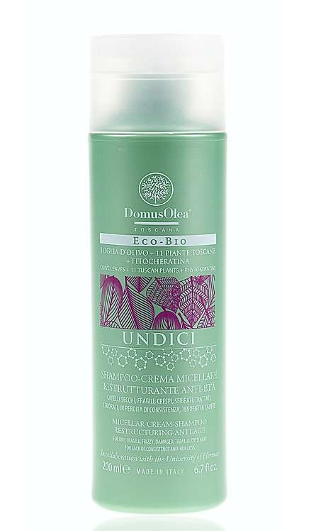 Shampoo-Crema Micellare Ristrutturante Anti-Età - Domus Olea Toscana
