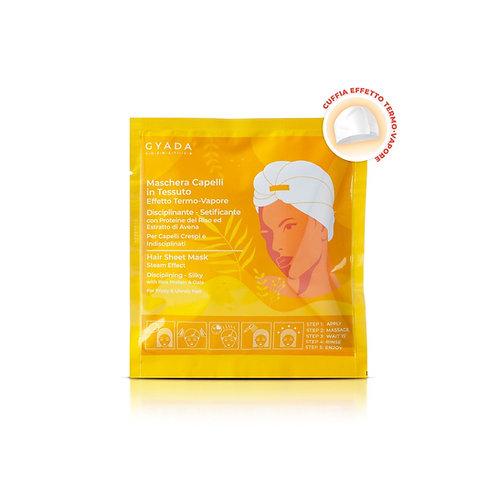 Maschera Capelli in Tessuto N.3 - Disciplinante e Setificante - Gyada Cosmetics