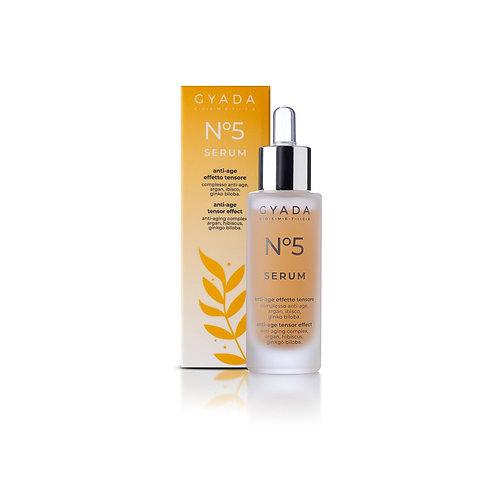 Siero Viso N. 5 Anti-Age / Effetto Tensore - Gyada Cosmetics