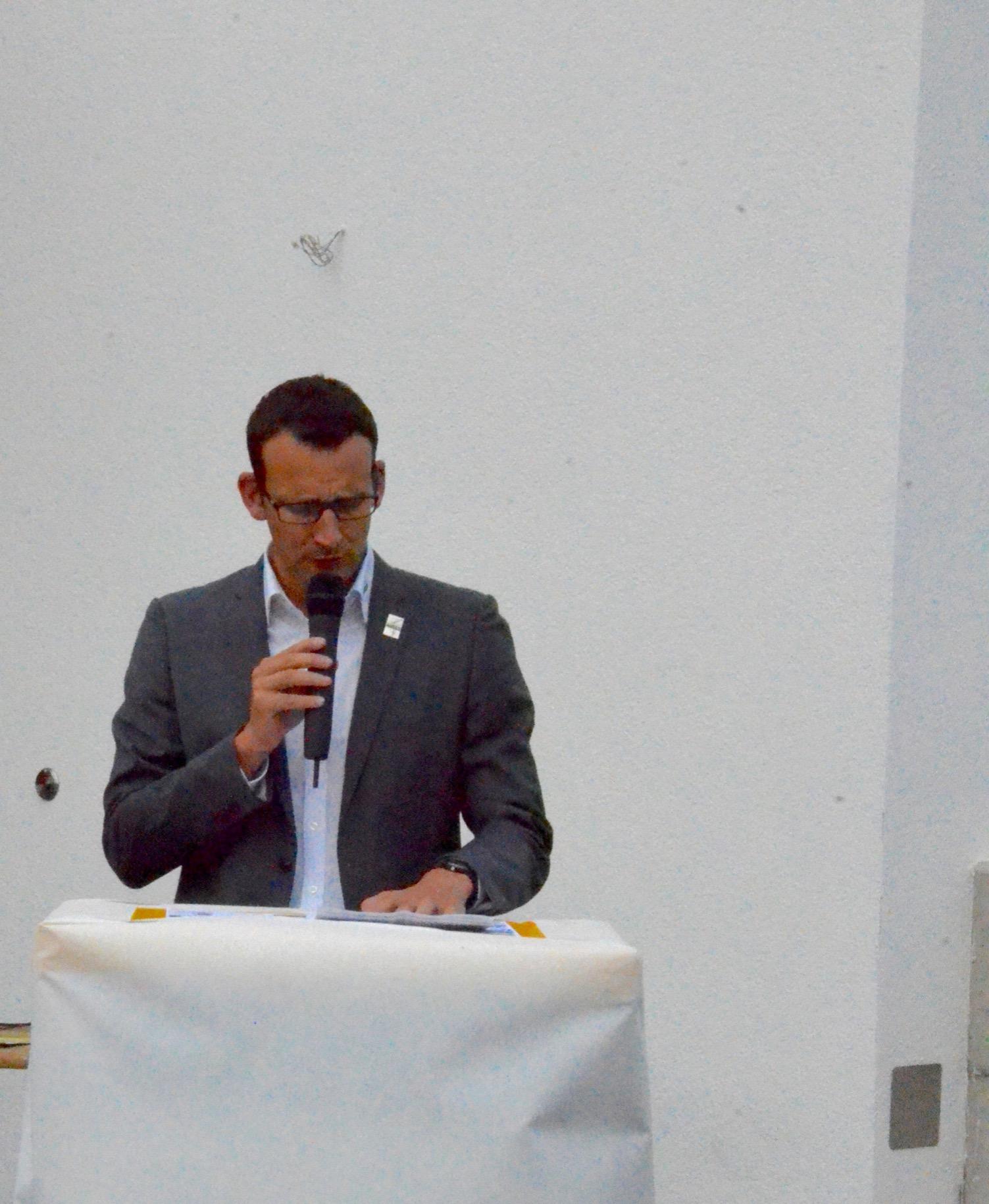 Cédric Bovey - Président ACVG