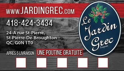 Jardin Grec Restaurant St Pierre De Broughton