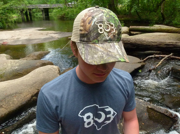 803 Camo Mossy Oak Dad Hat (Multiple Colors)
