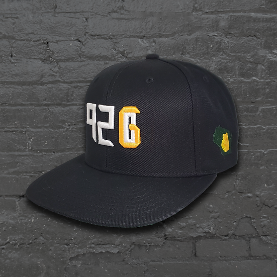 """920 """"Home"""" Snapback Hat with side logo"""