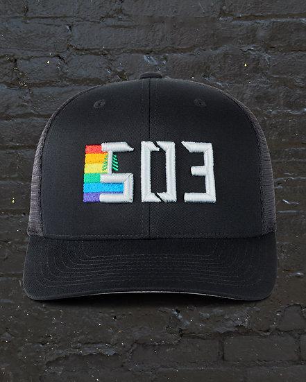 503 Pride Flexfit Snapback Baseball Hat