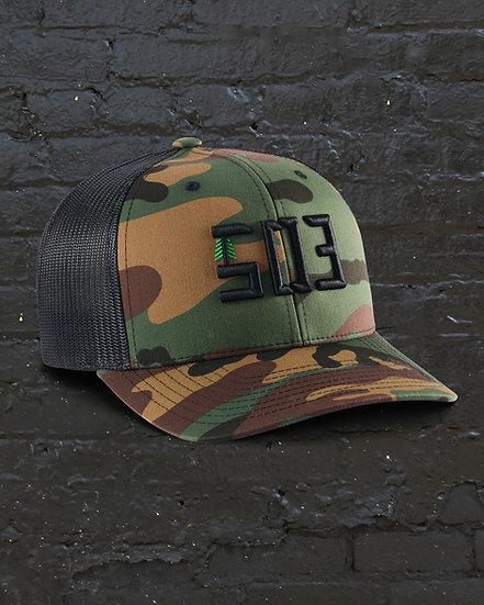 Classic 503 Camo Baseball / Trucker Hat