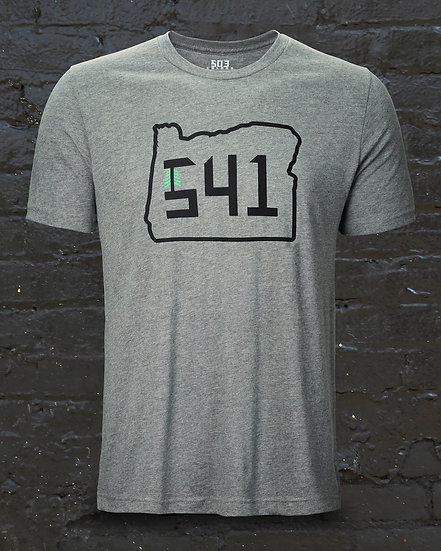 Men's 541 State Heather Grey Tee
