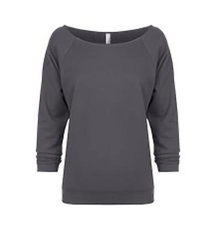 GFR Ladies 3/4 Sleeve Dark - Grey