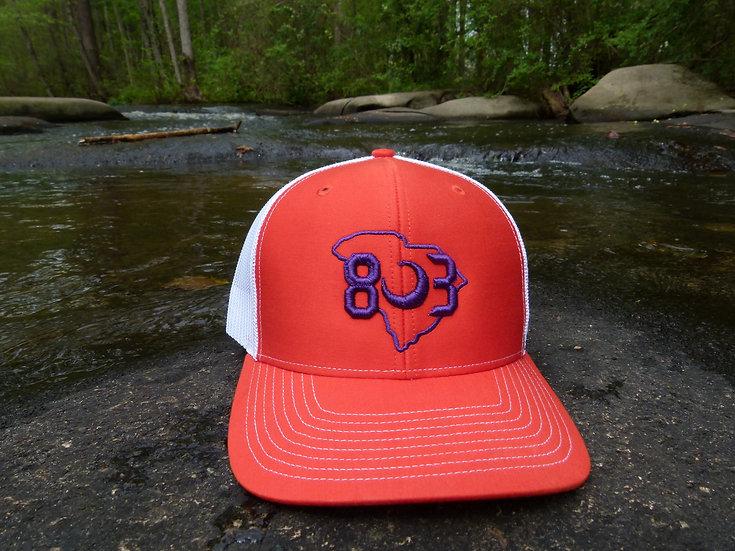 803 Clemson Snapback Hat