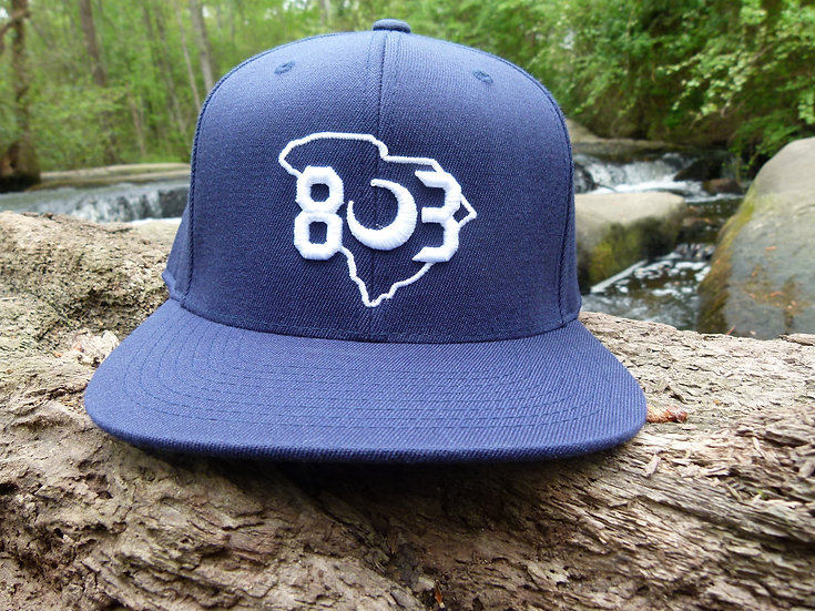 803 Flatbill Snapback Hat (Multiple Colors)