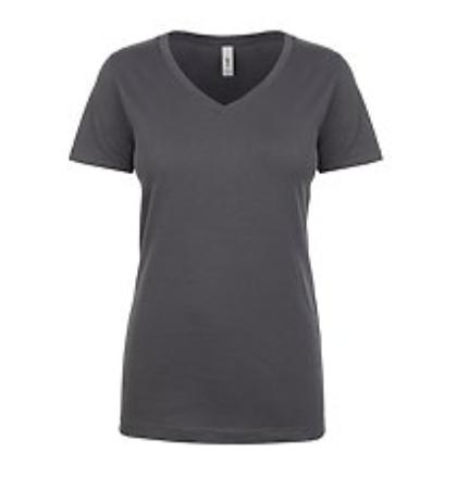 GFR Ladies Vneck - Grey