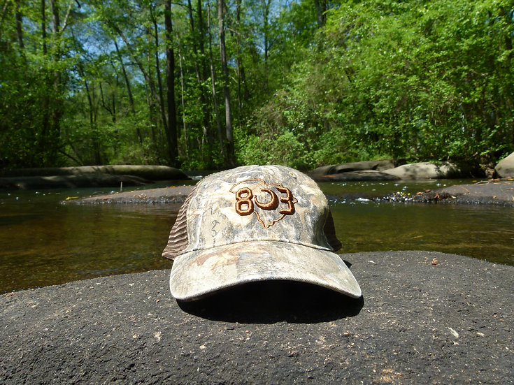 803 Camo Real Tree Dad Hat (Multiple Colors)