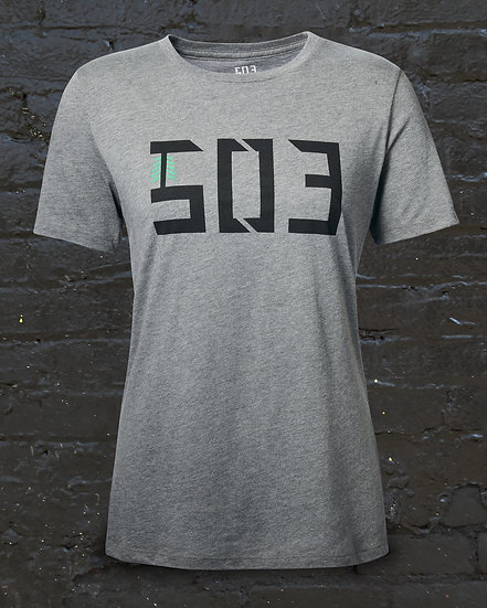 Women's Classic 503 Heather Grey Tee