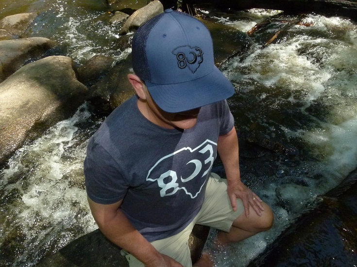 803 Trucker Fitted Hat (Multiple Colors)