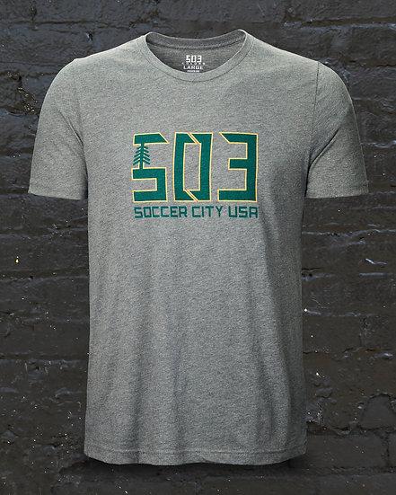 Unisex 503 Soccer City USA Tee