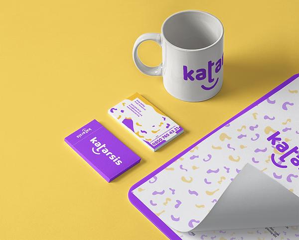 mug and business cards